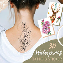 Load image into Gallery viewer, Waterproof 3D Tattoo Sticker