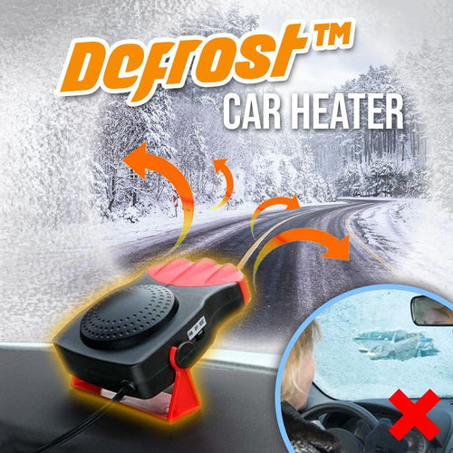 Defrost™ Car Heater MadameFlora 12V Black