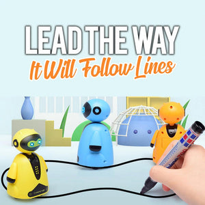 Follow Any Drawn Line Robot Kids DazzlingBreeze