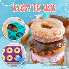 Load image into Gallery viewer, Heatproof Silicone Donut Mold MadameFlora