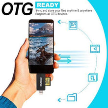 Load image into Gallery viewer, 4-in-1 OTG Easy Card Reader