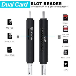 4-in-1 OTG Easy Card Reader