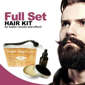 RapidGrowth™ Facial Hair Roller