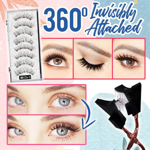 Dollyeye™️ Magnetic Eyelashes Set Makeup DazzyCandy