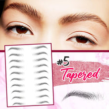 Load image into Gallery viewer, 4D Hair-Like Eyebrows Stamp (10 pairs) Hair DazzyCandy
