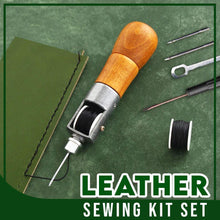 Load image into Gallery viewer, Leather Sewing Kit Set MadameFlora
