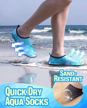 Load image into Gallery viewer, Quick Dry Aqua Socks LuminousUnicorn