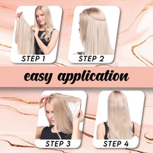 Load image into Gallery viewer, Rapunzel Invisible Hair Extensions Hair MadameFlora