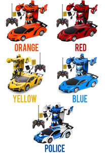 Transforming RC Car Robot Kids DazzlingBreeze