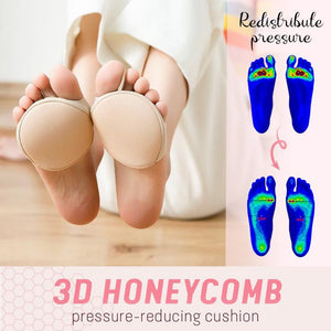 Honeycomb Fabric Forefoot Pads (3 Pairs)