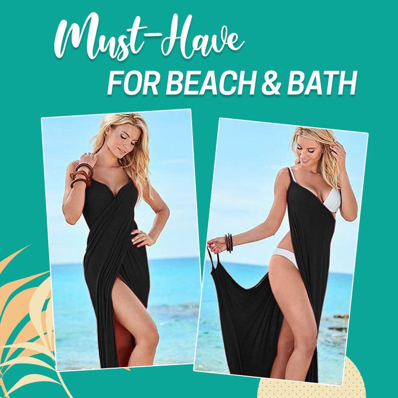 Summer Cover Up Towel Dress