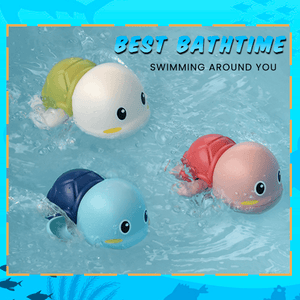 Baby Bath Turtle Toy (3 PCS)