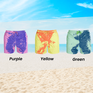 Color-Changing Beach Shorts