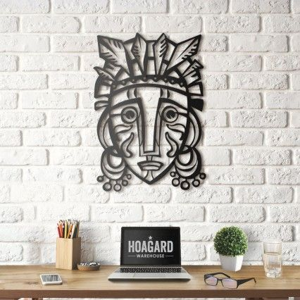 African Metal Wall Art