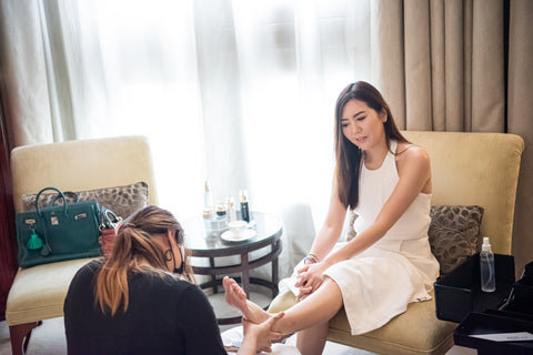 The First Refresh Pedi Party