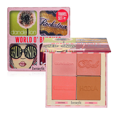BENEFIT World O'Blushes 腮紅修容 彩妝組