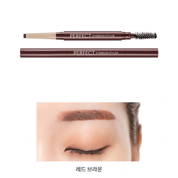(Pre- order 需等5-14天) Doota.S Missha Perfect EyeBrow Styler 完美 造型 眉筆 (6色)
