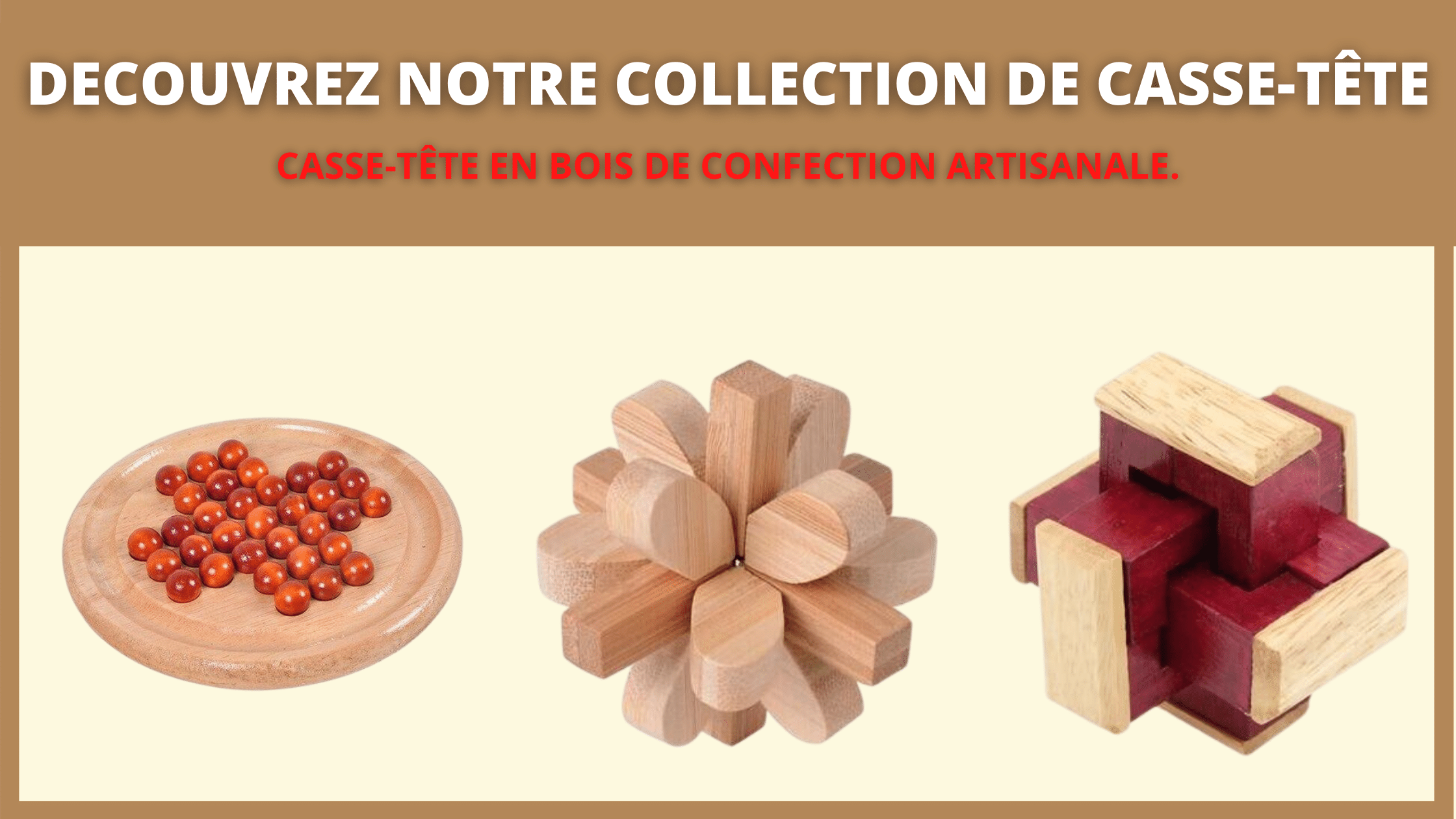 collection casse tête