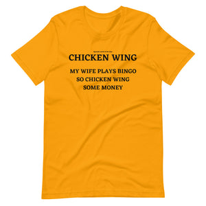 Spanish Word Of The Day - Chicken Wing - Short-Sleeve Unisex T-Shirt