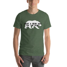 Load image into Gallery viewer, Does a Bear Shit On The Pope? - Short-Sleeve Unisex T-Shirt