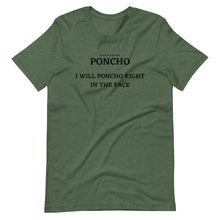 Load image into Gallery viewer, Spanish Word Of The Day - Poncho - Short-Sleeve Unisex T-Shirt