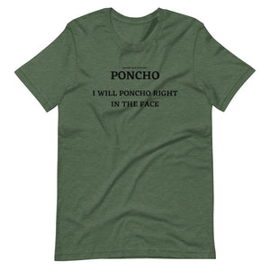 Spanish Word Of The Day - Poncho - Short-Sleeve Unisex T-Shirt