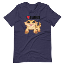 Load image into Gallery viewer, I Love Beardies - Short-Sleeve Unisex T-Shirt