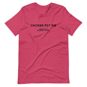 Chicken Pot Pie - Short-Sleeve Unisex T-Shirt