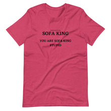 Load image into Gallery viewer, Spanish Word Of The Day - Sofa King - Short-Sleeve Unisex T-Shirt