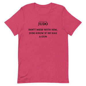 Spanish Word Of The Day - Judo - Short-Sleeve Unisex T-Shirt