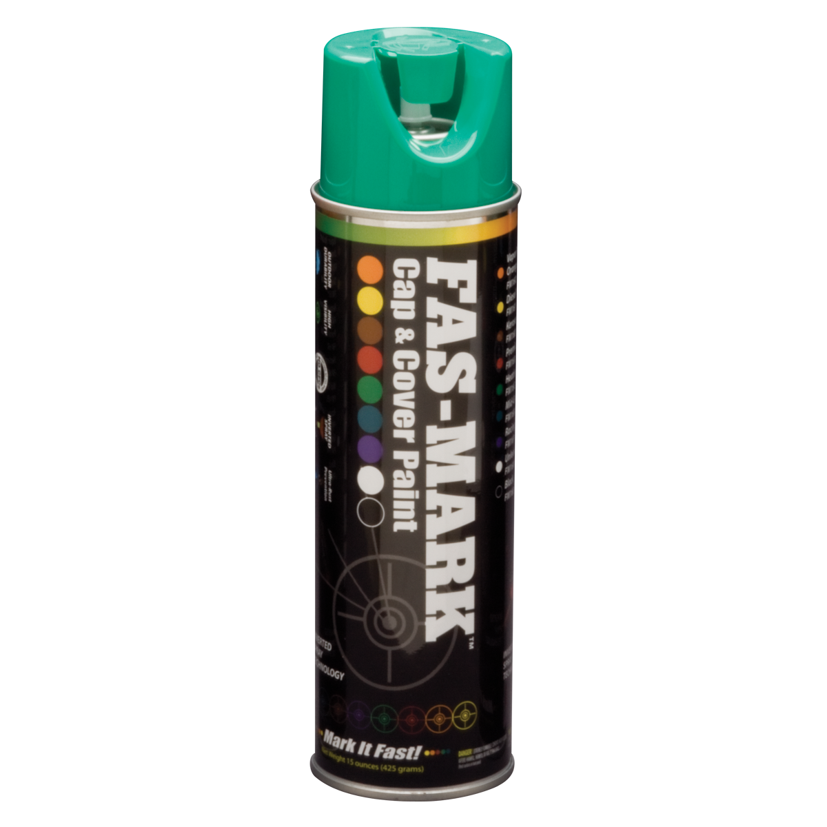 FAS-MARK™ Cap & Cover Marking Paint Green