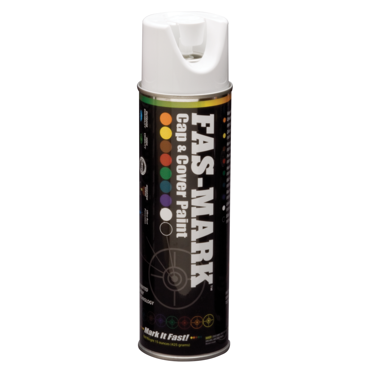 FAS-MARK™ Cap & Cover Marking Paint White
