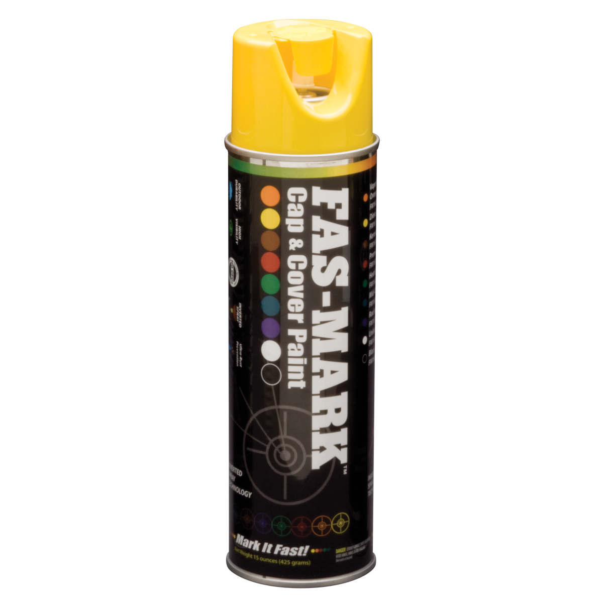 FAS-MARK™ Cap & Cover Marking Paint Yellow