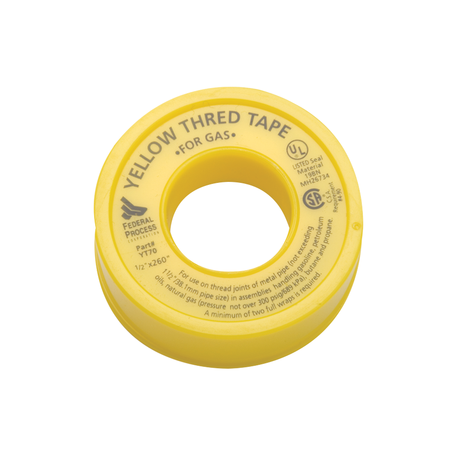 Thred Tape - Yellow for Gas