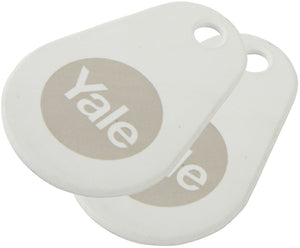 YALE Smart Lock Key Tag - Twin Pack