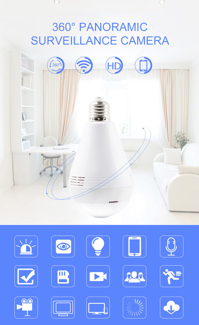 LED Light CCTV Bulb