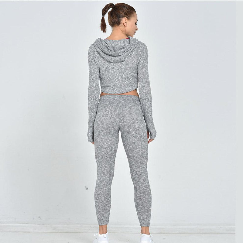 Quick-Dry Running Girl Activewear Yoga Suit