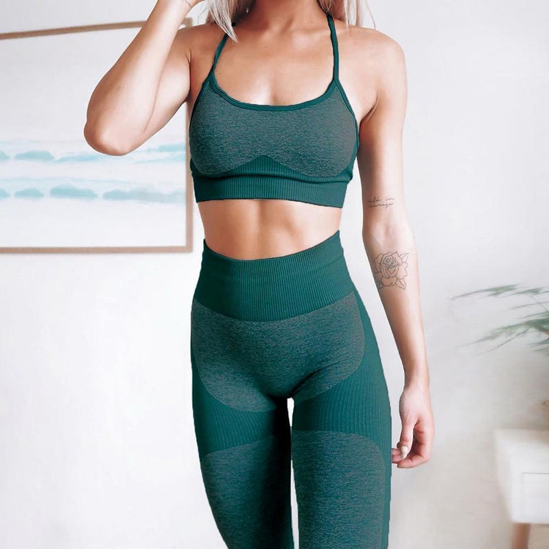 Creative Design Slime Style Yoga Suit