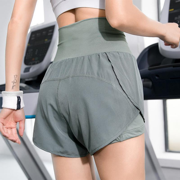 Anti-glare Pocket Two-piece Shorts