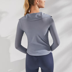 Training with Lapel Long Sleeves