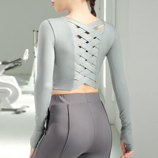 Outdoor Long-sleeved Fitness Clothes