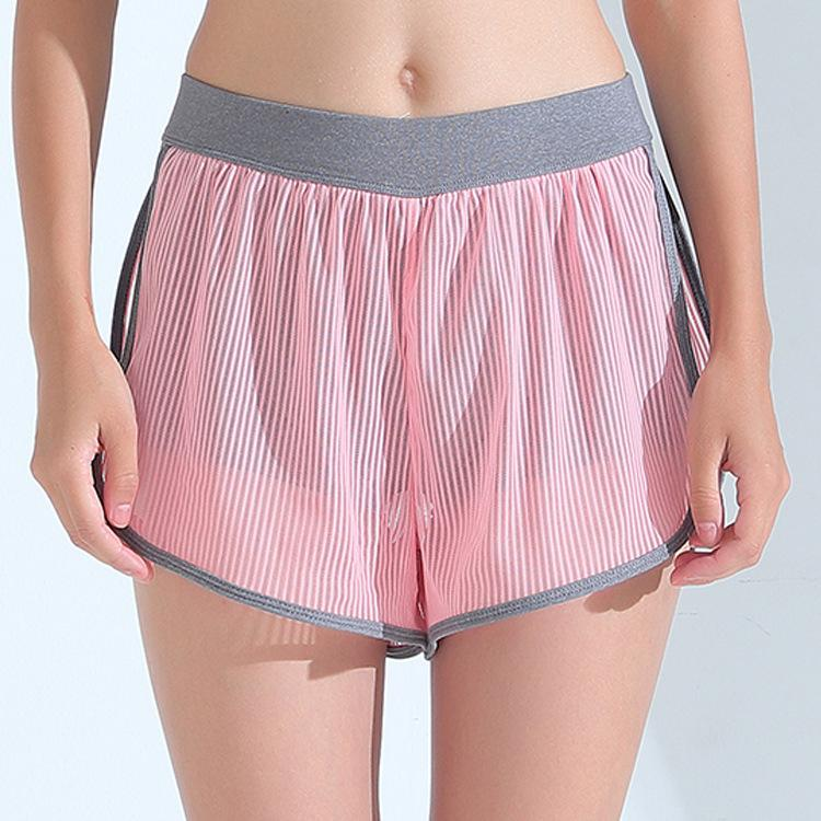 Outdoor Relaxed Mesh Yoga Shorts