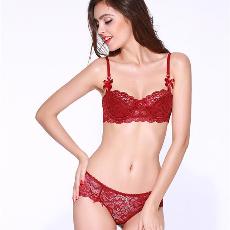 {Hot Sale} Flower Sexy Push-up Lingerie Set - Expecto.shop