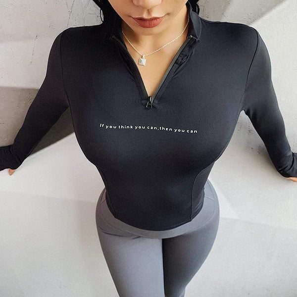 Workout Track Tops