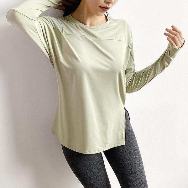 Mesh Stitching Breathable T-shirt