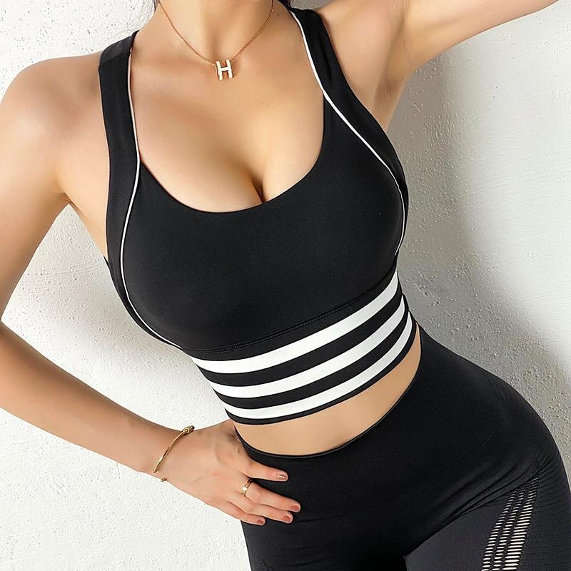 Cross Back Workout Top