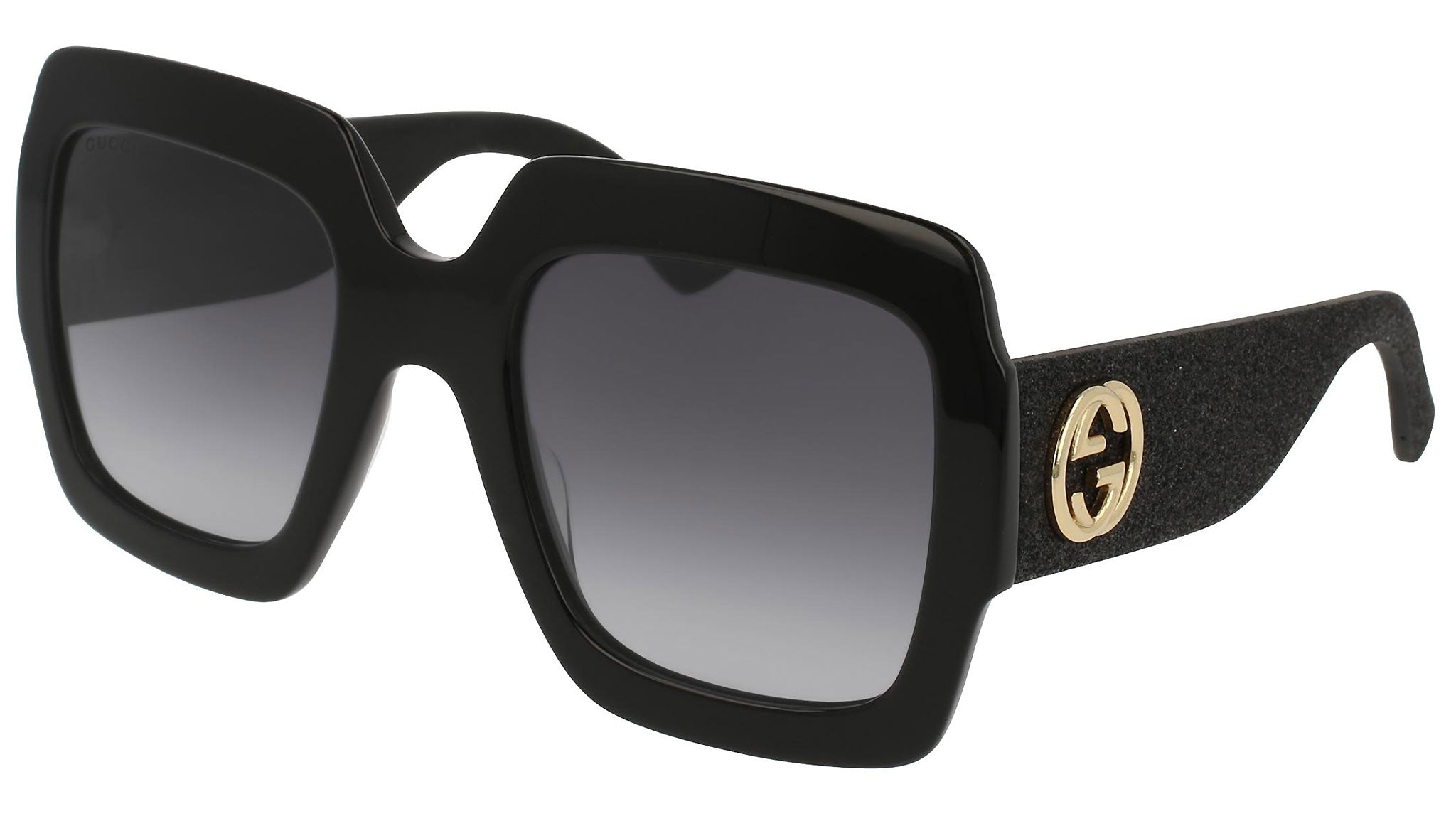 GG0102S shiny black and grey