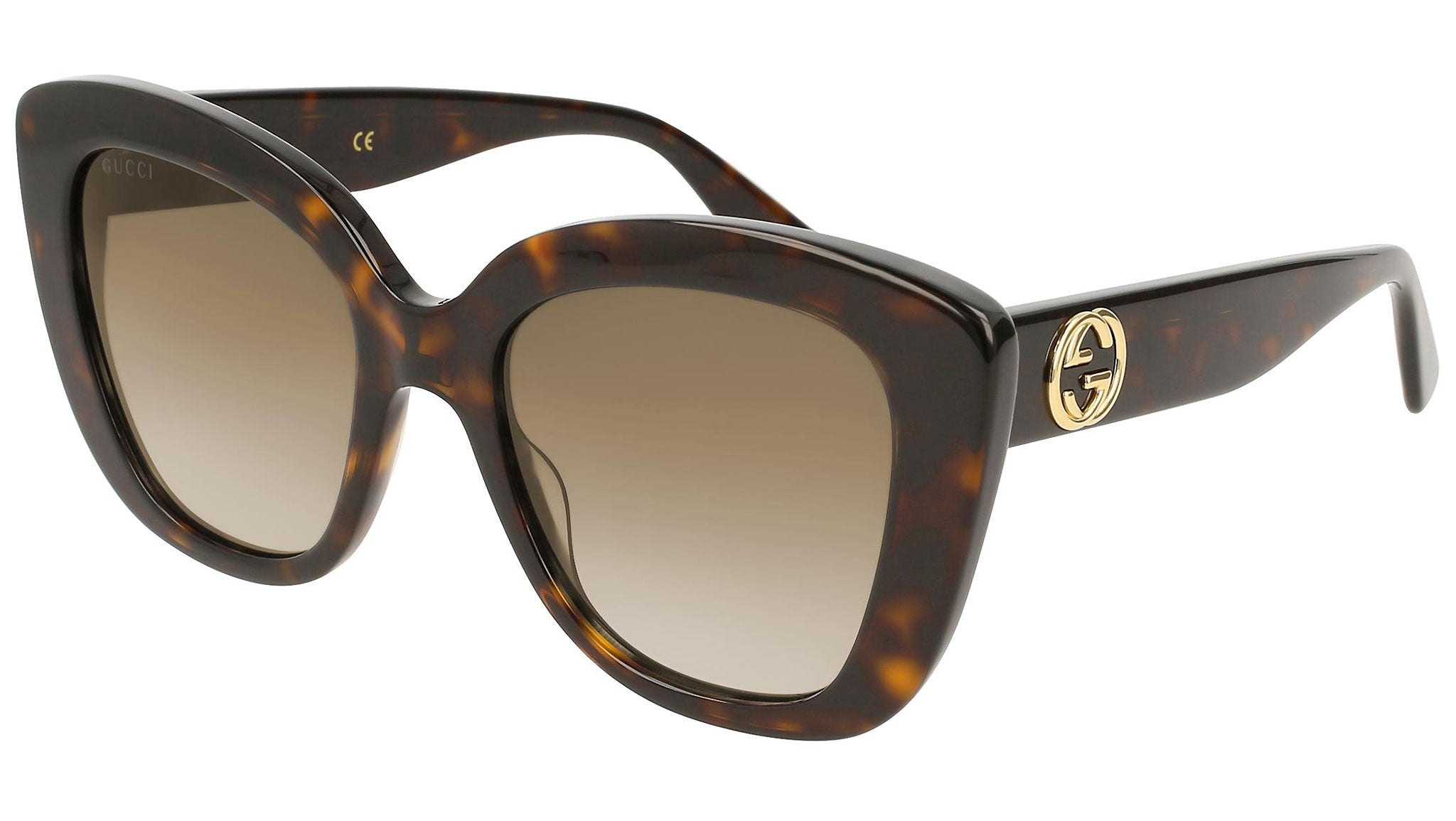 GG0327S dark havana and brown