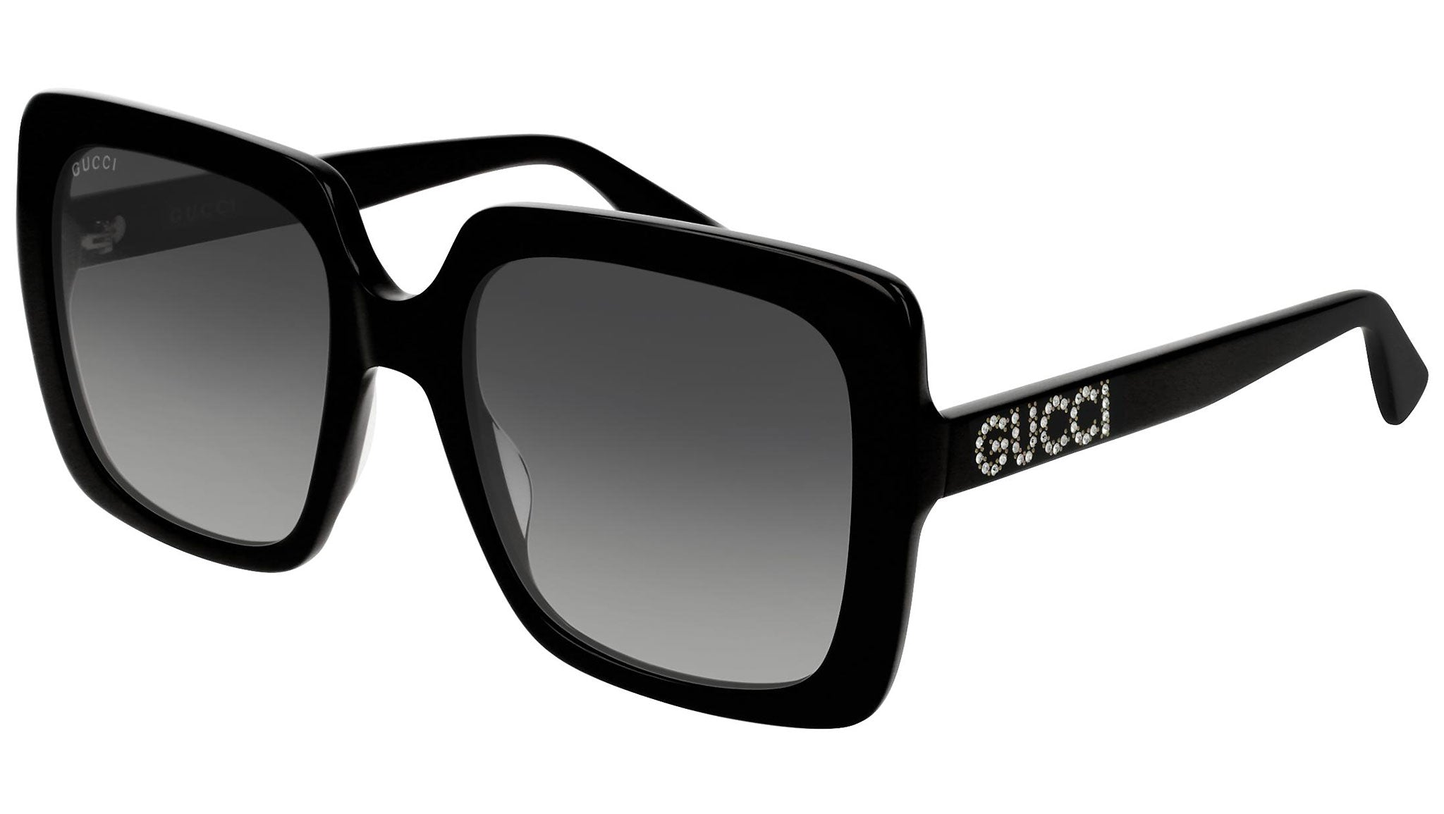 GG0418S shiny black and grey
