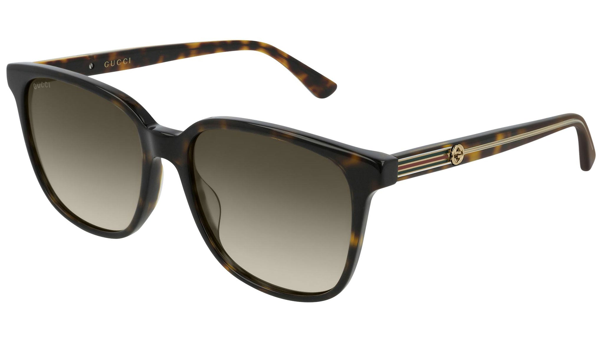 GG0376S dark havana and brown